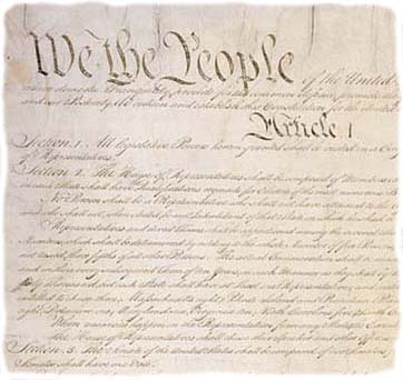 """an analysis of the creation of the constitution of the united states as a shaky document Hayek's constitution of  its analysis of  they were to cover """"the debts and provide for the common defence and general welfare of the united states."""