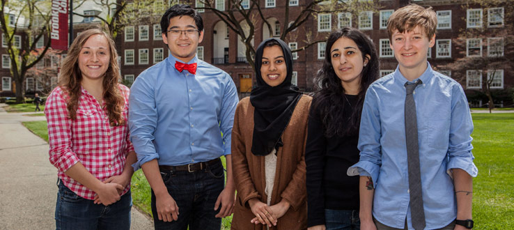 Our brightest scholars win national awards.