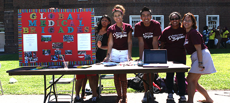 More than 150 student clubs and organizations guarantee something for everyone.