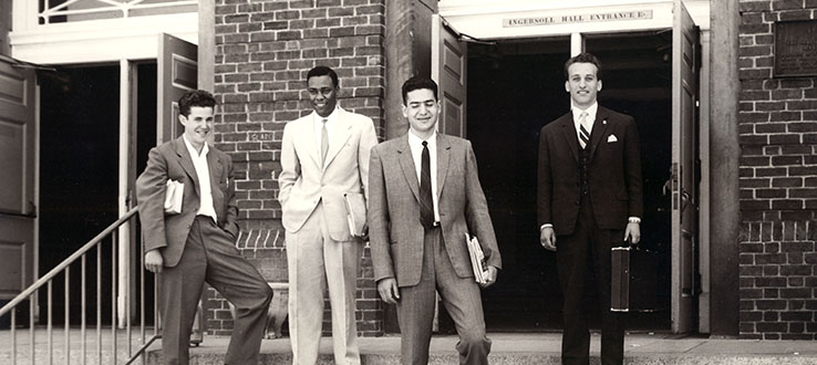 Our students were dressed for success in 1962.