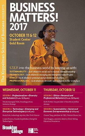 Business Matters! Speakers Series
