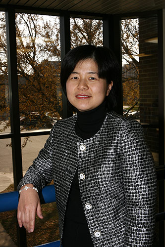 <p>Hyuna Park, Kurz Endowed Chair in Finance and Risk Management</p>