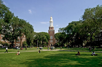 <p>Brooklyn College campus. </p>