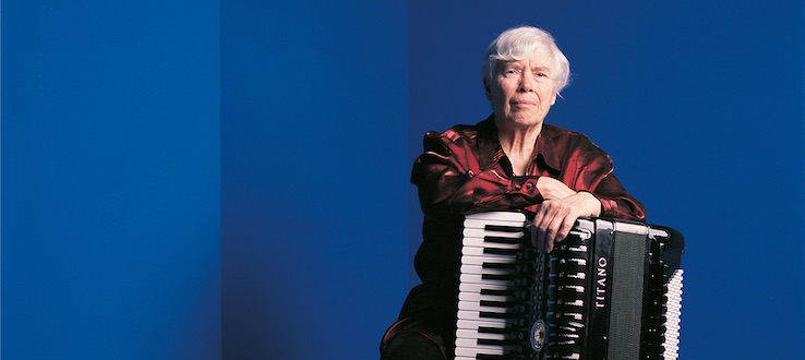 1<p>November 3-4, 2017, in conjunction with the 31st Biannual International Electroacoustic Festival, the Conservatory and the Center for Computer Music hosted a symposium, 'Legacies of Pauline Oliveros,' to honor the late composer's life, ideas, and music.</p>