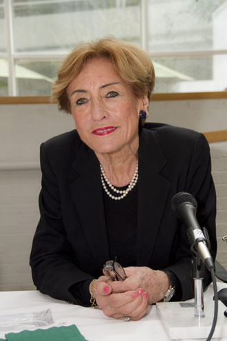 Gertrud Lenzer, Founding Director of the Children's Studies Center for Research, Policy, and Public Service
