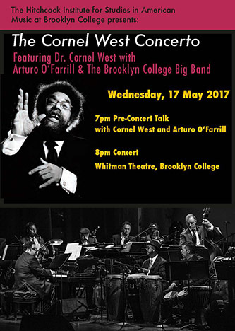 <p>Poster for The Cornel West Concerto</p>