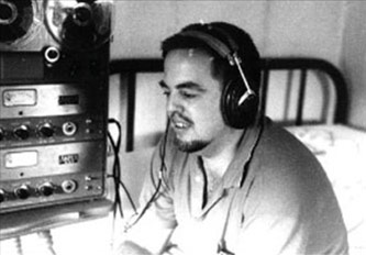 <p>Alan Lomax, Photo by Shirley Colins, Courtesy of the Library of Congress</p>