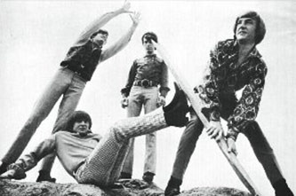 The Monkees, May 1967, From left: Mickey Dolenz, Davy Jones, Mike Nesmith, and Peter Tork