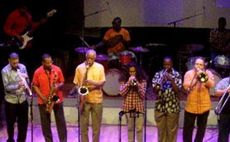 <p>The York College Creative Ensemble at Vision Festival 17 (2012)</p>