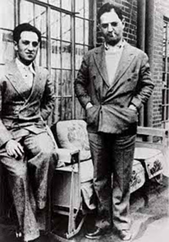 <p>George and Ira Gershwin, New York, 1928. Courtesy of the Ira and Leonore Gershwin Trusts.</p>