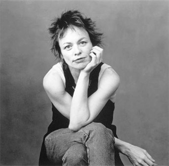 <p>Laurie Anderson, Courtesy of Warner Bros. Photo by Annie Leibovitz</p>