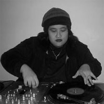 <p>DJ Kuttin Kandi performing. Courtesy of Scratch Academy</p>