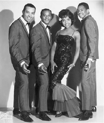 Gladys Knight and The Pips in 1964. Courtesy Michael Ochs Archives