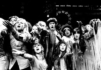 <p><em>Hair</em>: Original 1968 production. Courtesy of Getty Images</p>