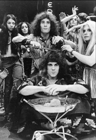<p><em>Hair</em>: Original 1968 production. Courtesy of Playbill</p>