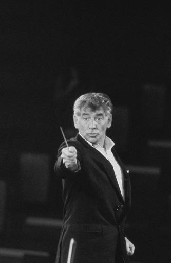 <p>Leonard Bernstein circa 1960. Photo Courtesy of Erich Auerbach/Getty Images.</p>