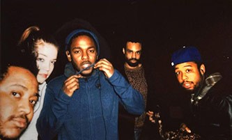 "<p>Left to right: Stephen ""Thundercat"" Bruner, Anna Wise, Kendrick Lamar, Bilal, Terrace Martin. Courtesy of Sonnymoon.</p>"