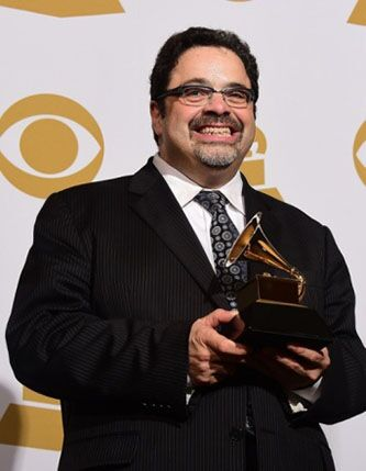 <p>Arturo O'Farrill at the Grammys</p>