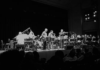 <p>An Evening of Calypso Jazz performed at Brooklyn College. Photo by Jeffrey Taylor</p>