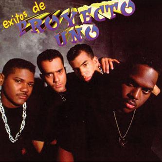 <p>Figure 5: CD cover for Proyecto Uno's <em>Exitos de Proyecto Uno</em> (2007).</p>