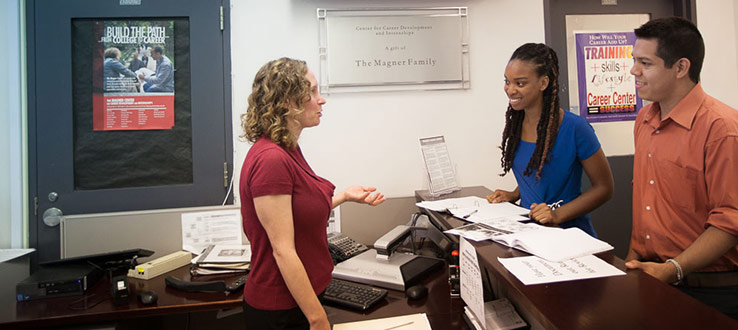 The Magner Career Center offers a variety of services and programs for students and alumni.