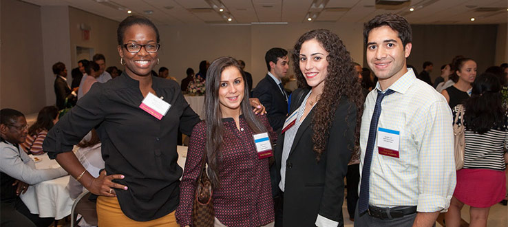 "Our young alumni remember to ""give back"" by serving as speakers or mentors and funding internships."