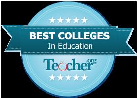 Teacher.org school rankings badge