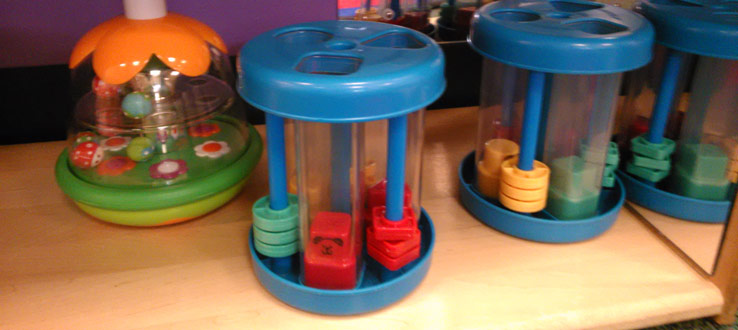1<p>The toys in the Infants Room promote inquiry, engagement, and learning.</p>