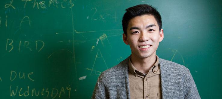 <p>NYC Men Teach student Humphrey Tsui</p>