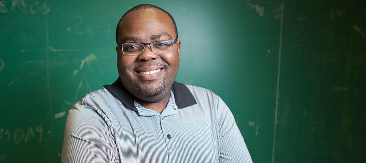 <p>NYC Men Teach student Troy Edwards</p>