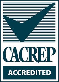 <p>CACREP Accredited</p>