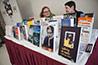 <p>Author's Corner: Sally Bowdoin and Jane Cramer, Library</p>