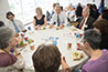 <p>Luncheon Roundtable Discussions</p>