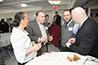 <p>Reception: Vito Acconci, Art, and Dov Fischer, Accounting</p>