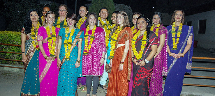 Past programs in India include global health and documentary production.