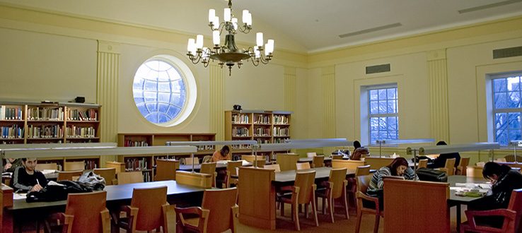 Study in style in one of our reading rooms.