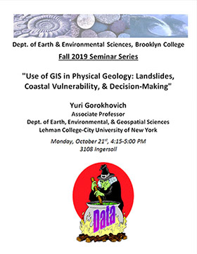 Use of GIS in Physical Geology: Landslides, Coastal Vulnerability, & Decision-Making