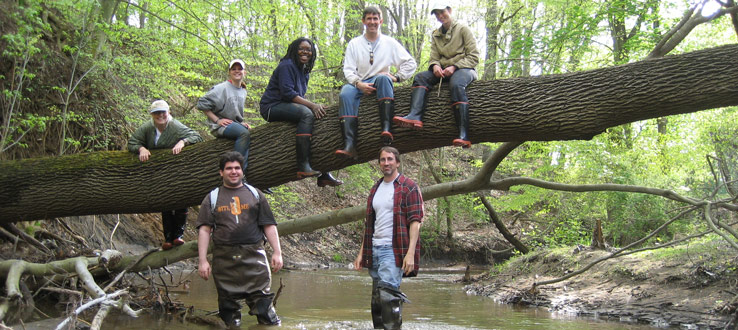 Sedimentology Trip, Big Brook, New Jersey