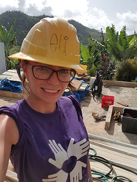 Earth and Environmental Sciences Student Eliana Green Travels to Puerto Rico with the CUNY Service Corps