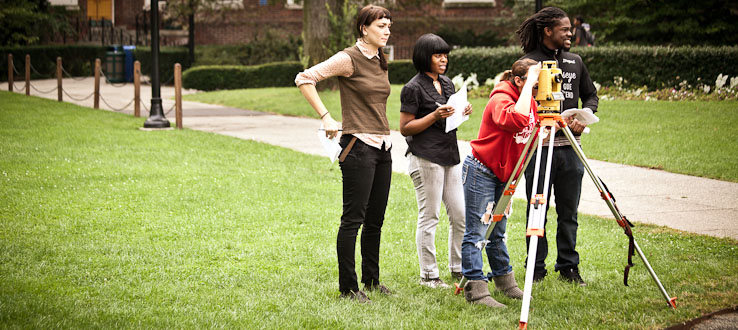 Our campus serves as an outdoor lab.