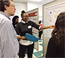 HNSC Research Students Presented Their Work on Science Day