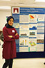 <p>Dhoha Alshalawi, a graduate student in the Physics Department at Brooklyn College, with her research on renewable energy strategy and solar energy deployment in Saudi Arabia.</p>