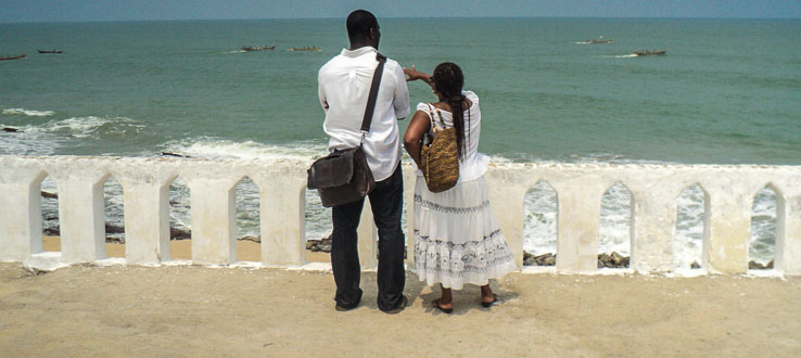 A trip to Cape Coast Castle in Ghana gives our students a first-hand look at the Atlantic slave trade.