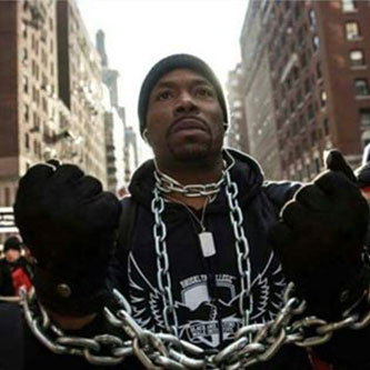 Kevin LaMonte Jones Millions March December 2014 (Protest in response to Eric Garner's murder)