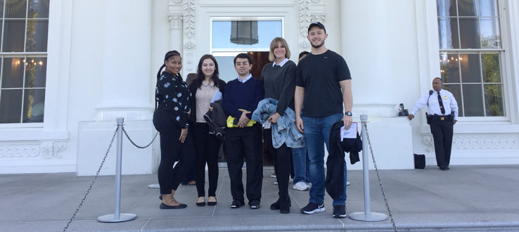 Students Visit White House, Spring 2018