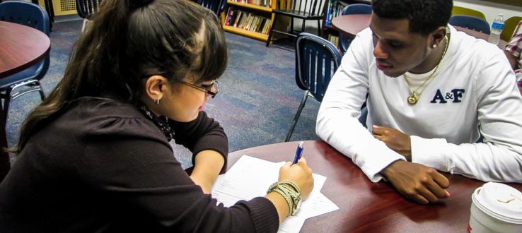 Peer tutoring from students like you.