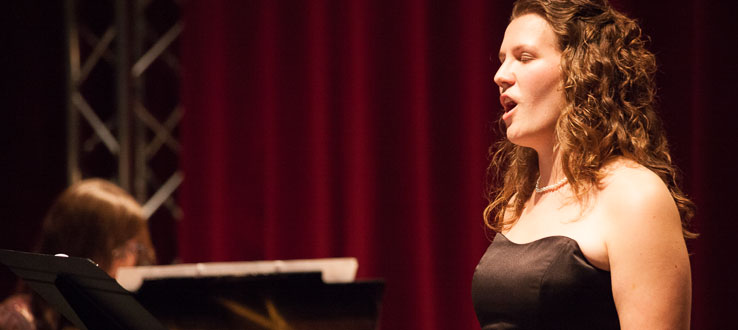 Our talented vocalists receive training from international performers.