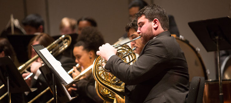 Study with our world class brass faculty, which features members of the illustrious Canadian Brass.