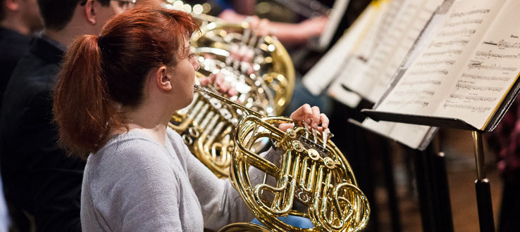 Special scholarships offered to talented low brass players.