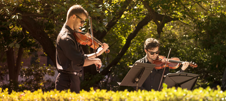 Chamber Music at the Lily Pond